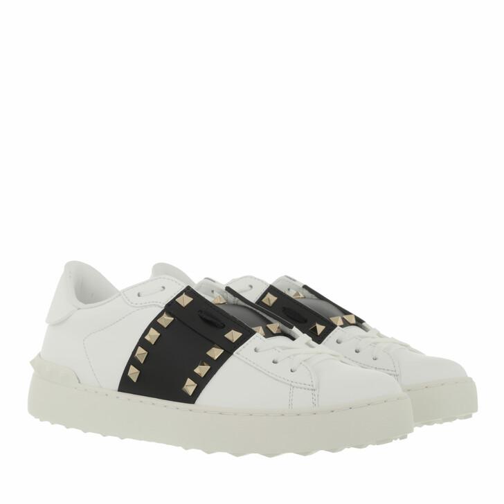 shoes, Valentino Garavani, Rockstud Untitled Sneakers White Black