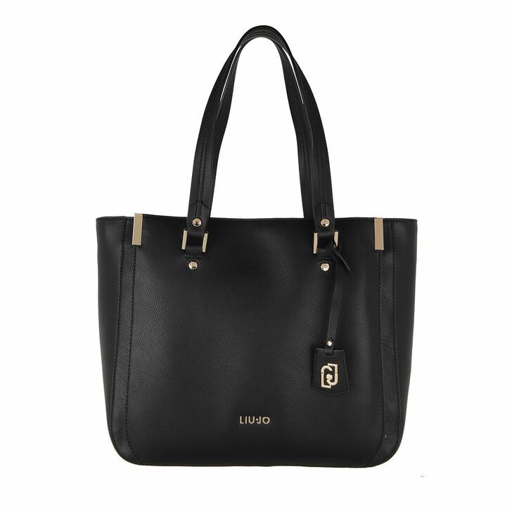 Handtasche, LIU JO, Large Tote Nero