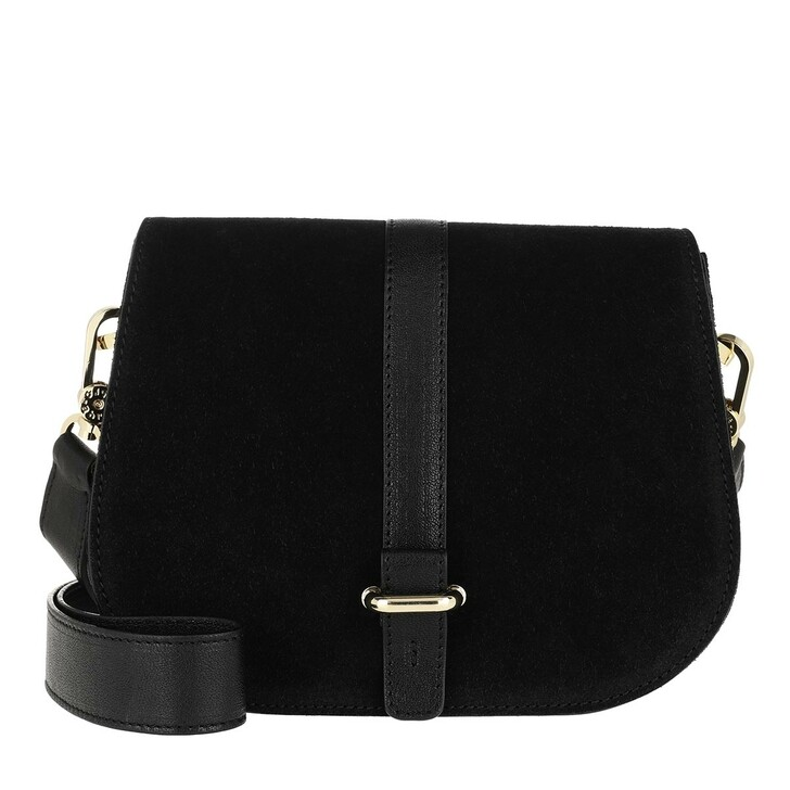Handtasche, Abro, Crossbody Bag Saga Small Black