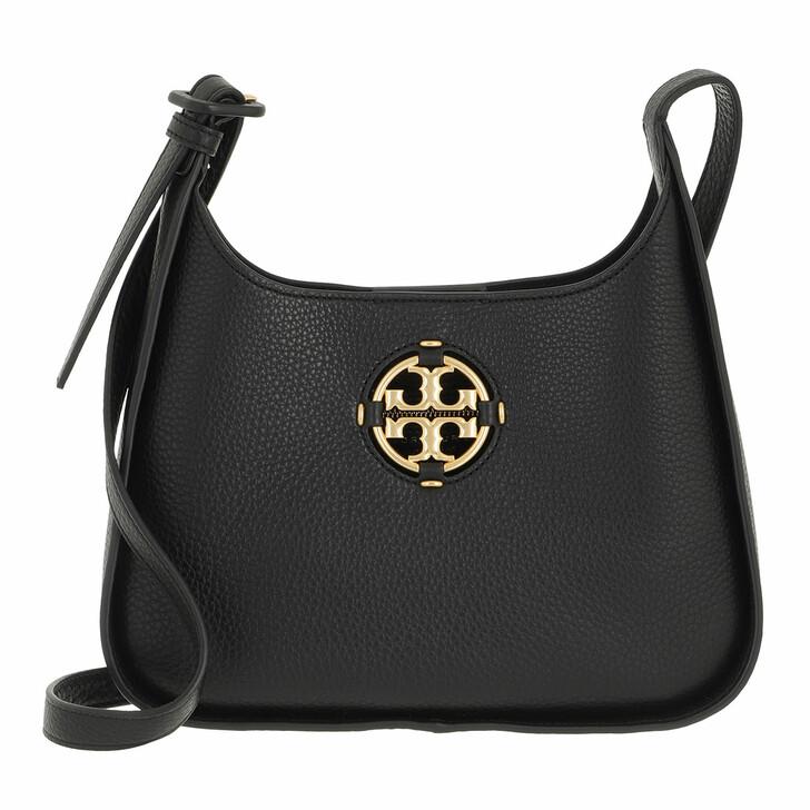 bags, Tory Burch, Miller Small Bucket Bag Black