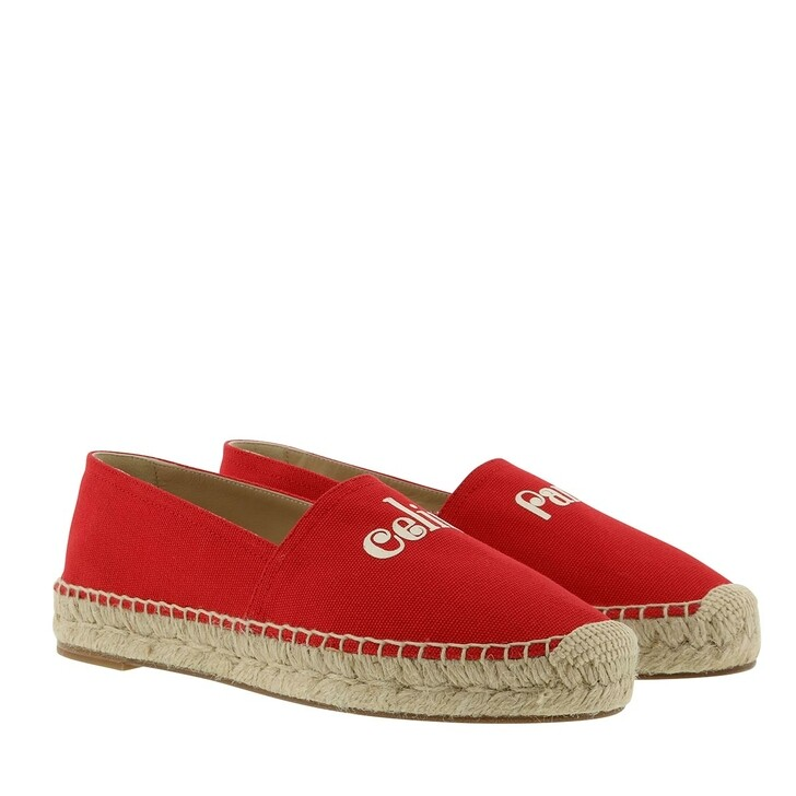 Schuh, Celine, Lobster Espadrilles Red