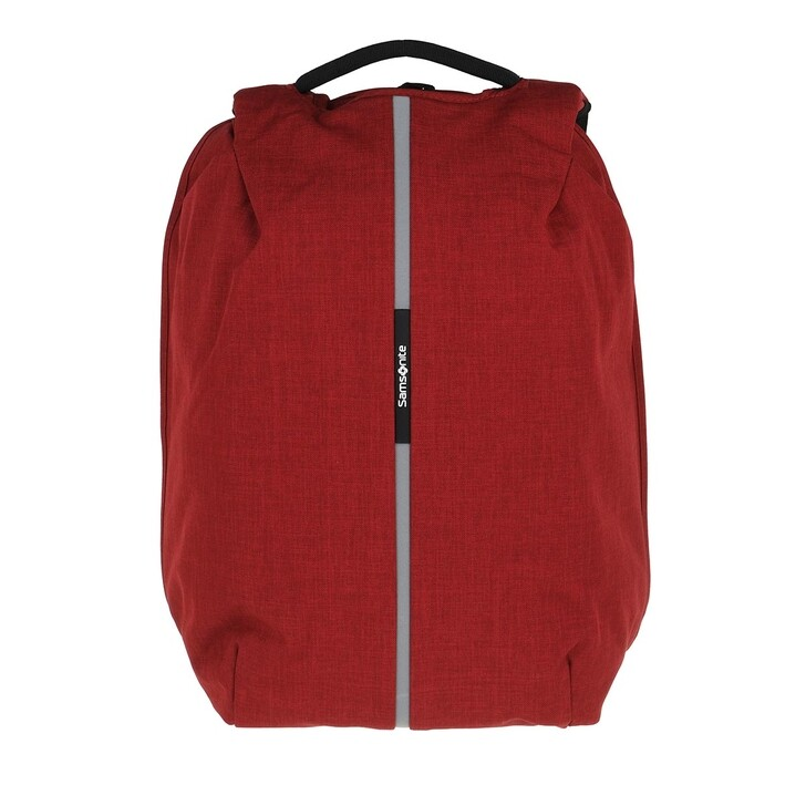 "Reisetasche, Samsonite, Securipak 15,6"" Laptop Backpack Dark Red"