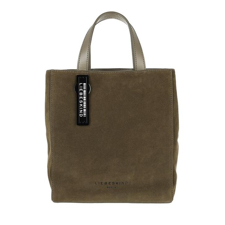 bags, Liebeskind Berlin, Paper Bag Suede Paper Bag S Tea Leaf