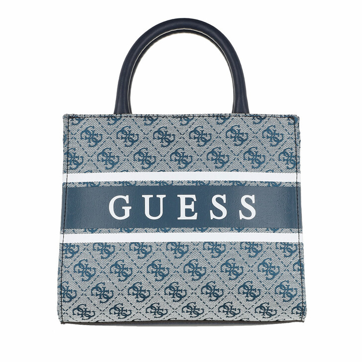 Handtasche, Guess, Monique Mini Tote Blue