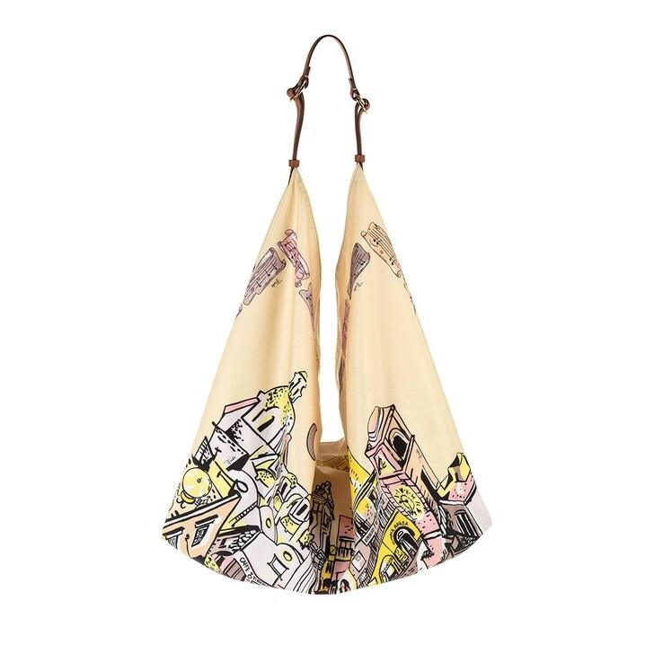 Handtasche, Emilio Pucci, Hobo Bag Piazzetta Capri Banana