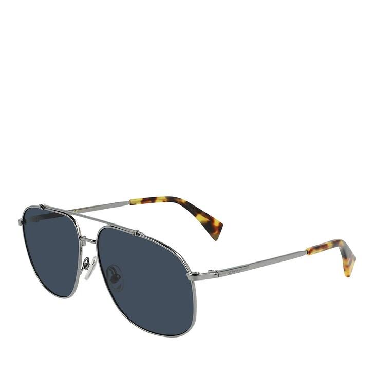 Sonnenbrille, Lanvin, LNV110S DARK RUTHENIUM/BLUE