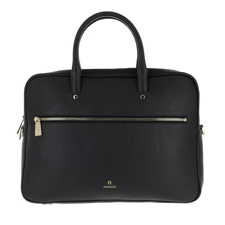 Handtasche, AIGNER, Ivy Handle Bag Ink