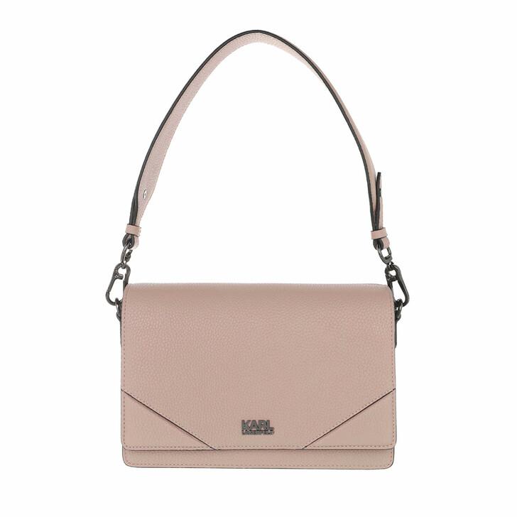 bags, Karl Lagerfeld, K/Stone Big Shoulderbag A190 Beige blus