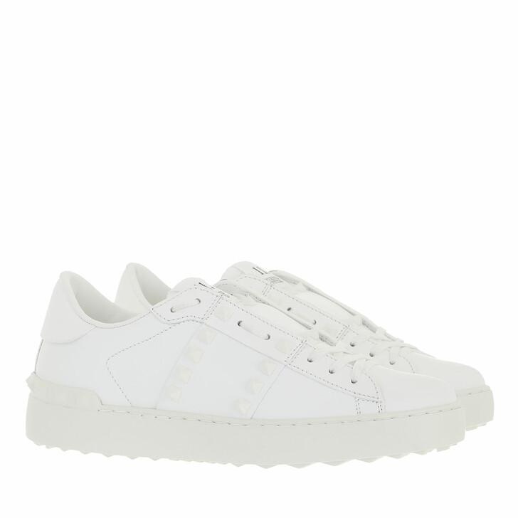 shoes, Valentino Garavani, Rockstud Sneaker Untitled White
