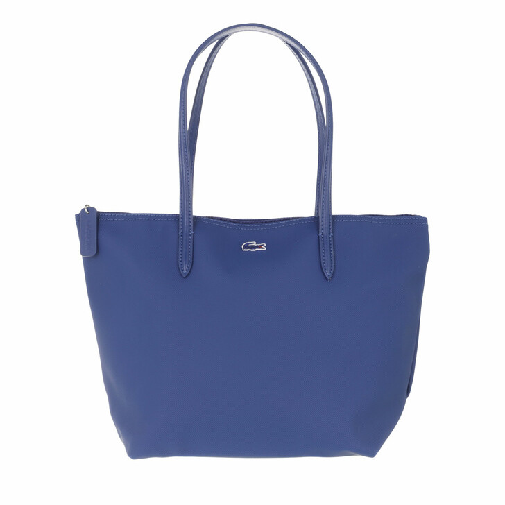 bags, Lacoste, Women Shopping Bag Midnight/Trade Wind Blue