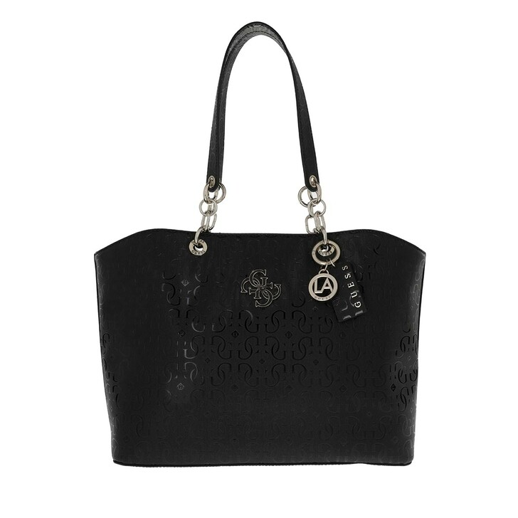 Handtasche, Guess, Chic Shine Tote Black