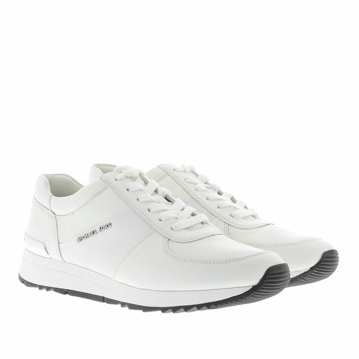 Schuh, MICHAEL Michael Kors, Allie Trainer Flat Optic White