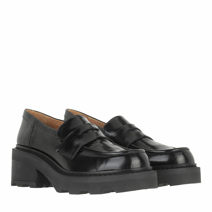 shoes, Toral, Shoe With Track Sole Black