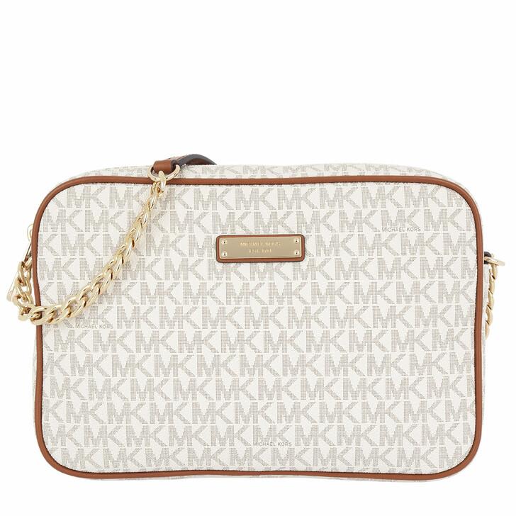 Handtasche, MICHAEL Michael Kors, Jet Set Item LG EW Crossbody Vanilla