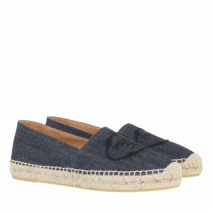 shoes, Prada, Espadrilles Blue