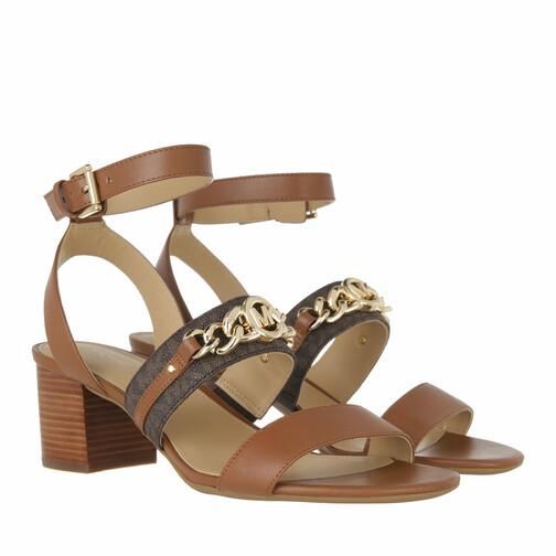michael kors -  Sandalen & Sandaletten - Roxane Flex Mid - in cognac - für Damen