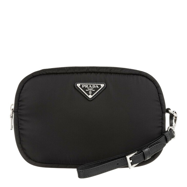 Handtasche, Prada, Small Logo Clutch Black
