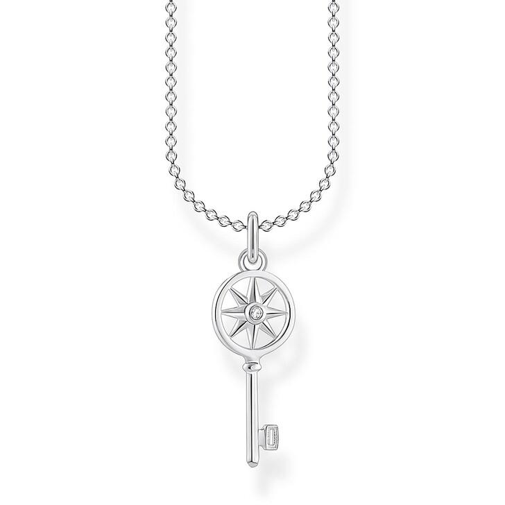 Kette, Thomas Sabo, Necklace Key Pearl White