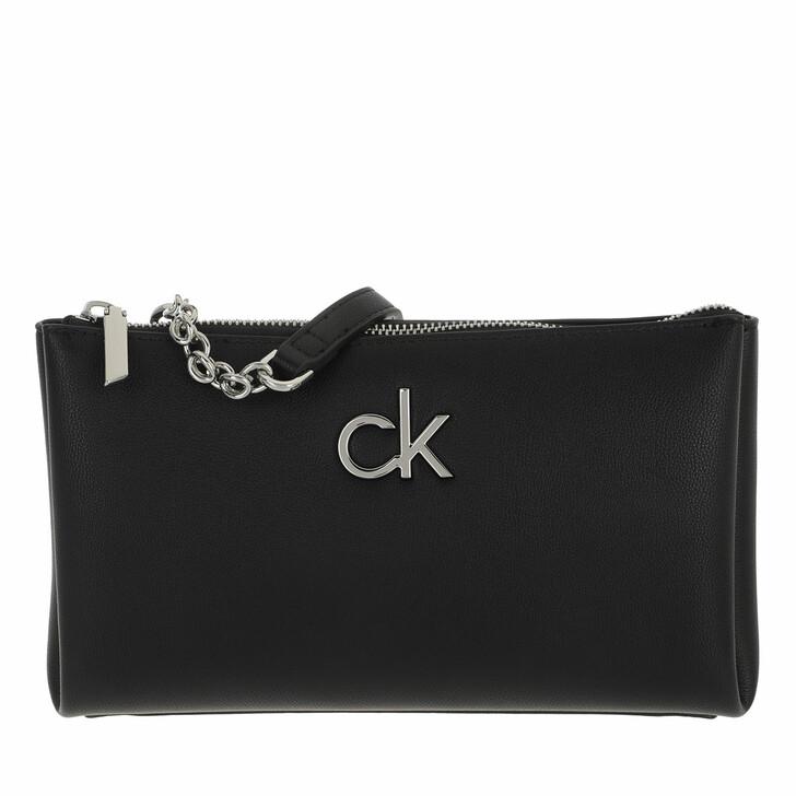 Handtasche, Calvin Klein, Double Zip Crossbody  Black