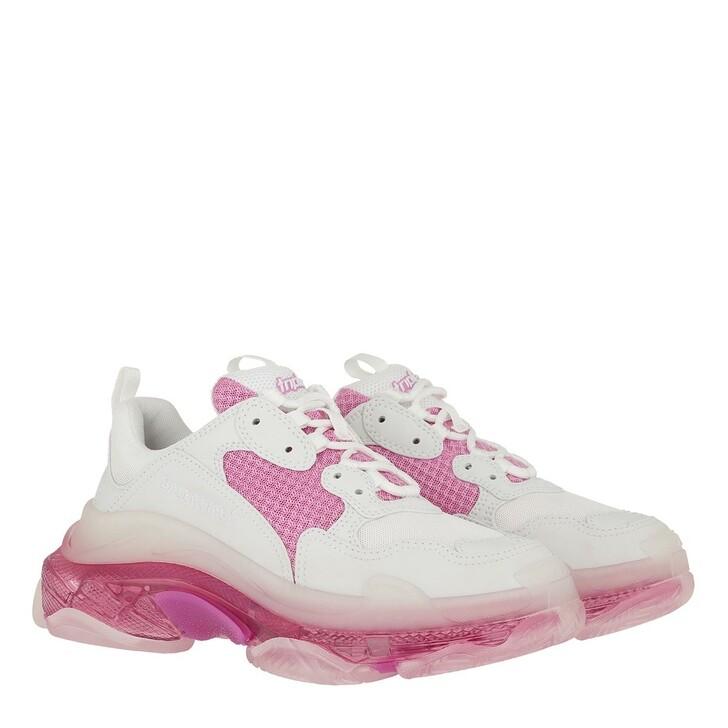 Schuh, Balenciaga, Triple S Sneaker White Pink