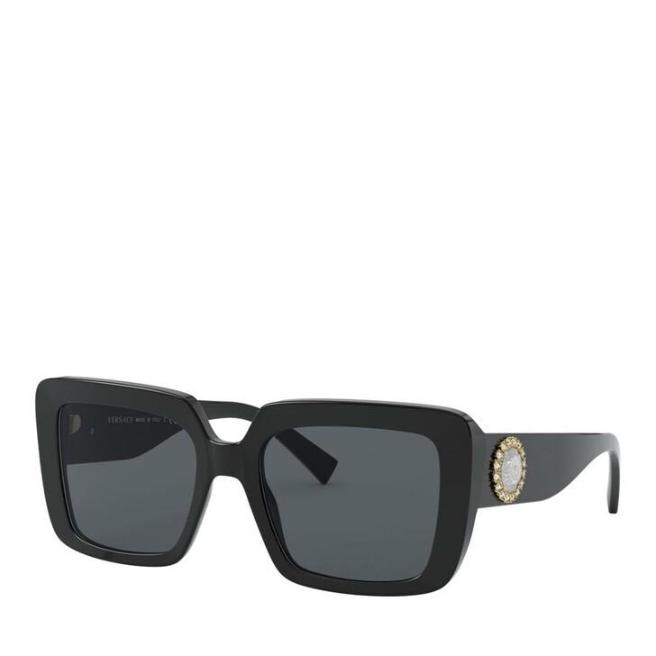 Sonnenbrille, Versace, Women Sunglasses Rock Icons 0VE4384B Black