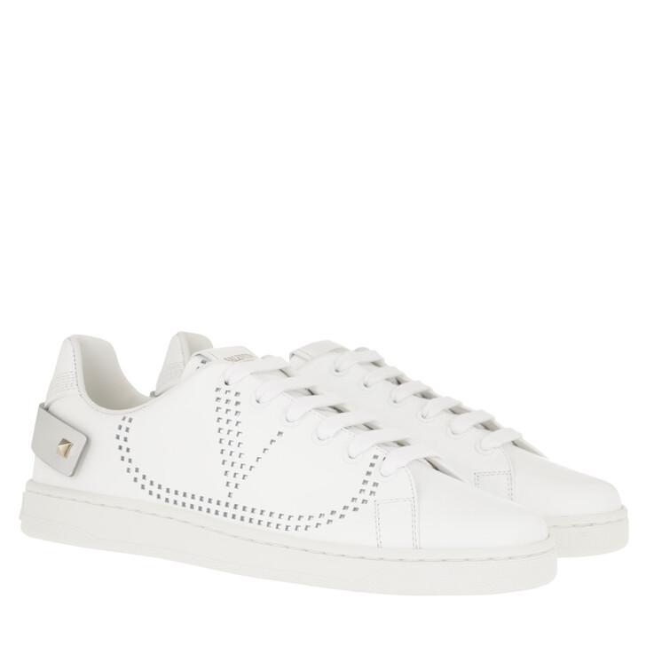 Schuh, Valentino Garavani, V Low Sneaker White/Silver