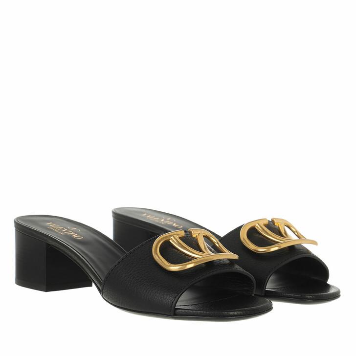 shoes, Valentino Garavani, V Pumps Leather Black