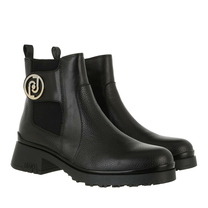 shoes, LIU JO, New Nancy 45  Bootie Black