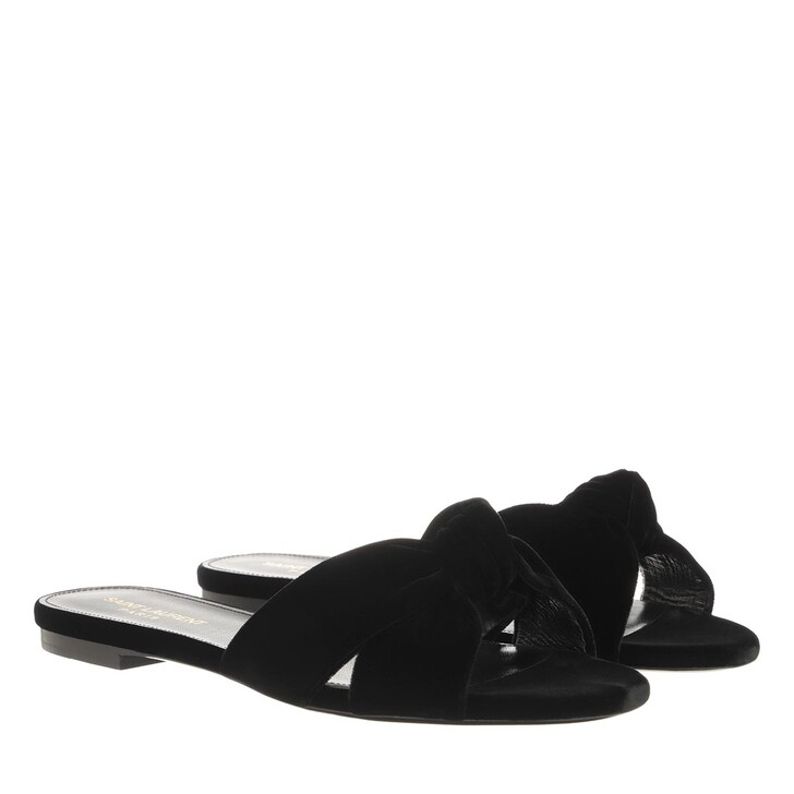 Schuh, Saint Laurent, Bianca Loafers Black