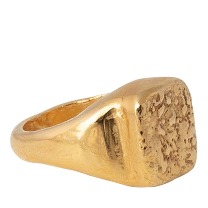 rings, Released From Love, Classic Signet Ring 001  Gold Vermeil