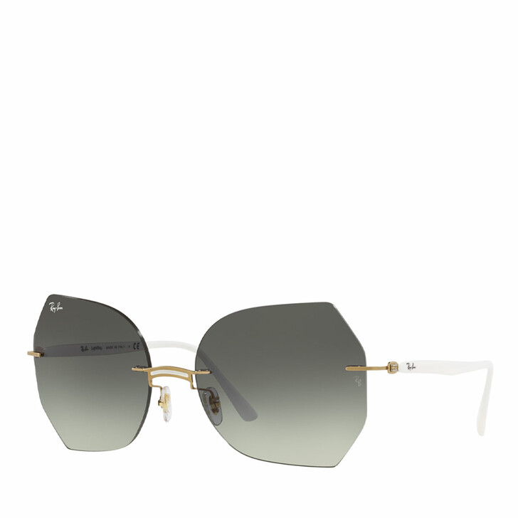 Sonnenbrille, Ray-Ban, 0RB8065 WHITE ON GOLD
