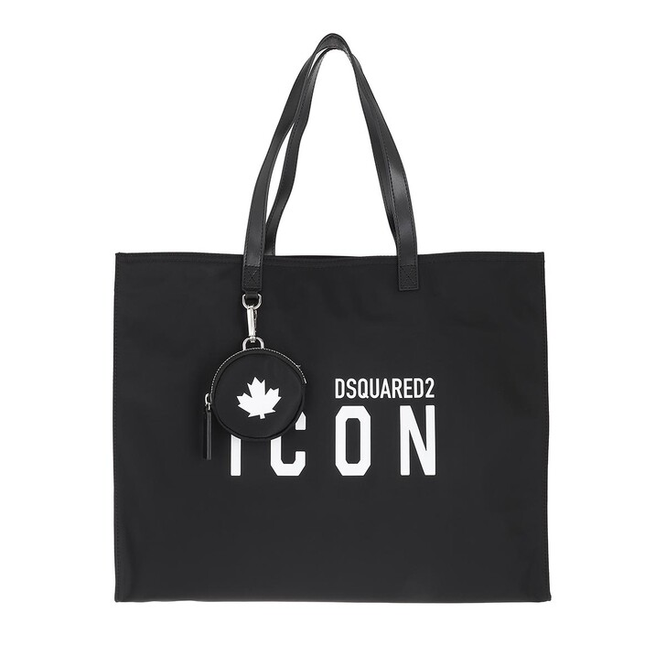 bags, Dsquared2, Icon Shopping Bag Black