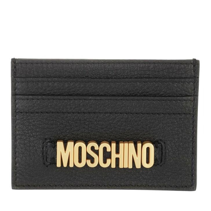 wallets, Moschino, Portafoglio Nero
