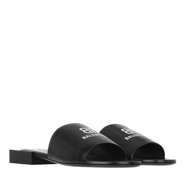 shoes, Balenciaga, Box Sandals Black