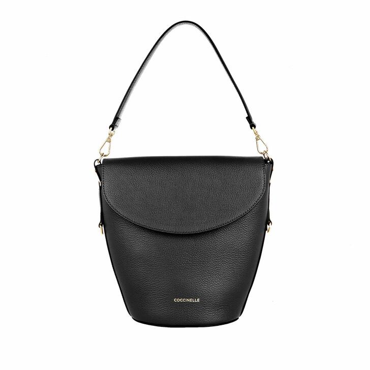 bags, Coccinelle, Diana Handbag Bottalatino Leather Noir