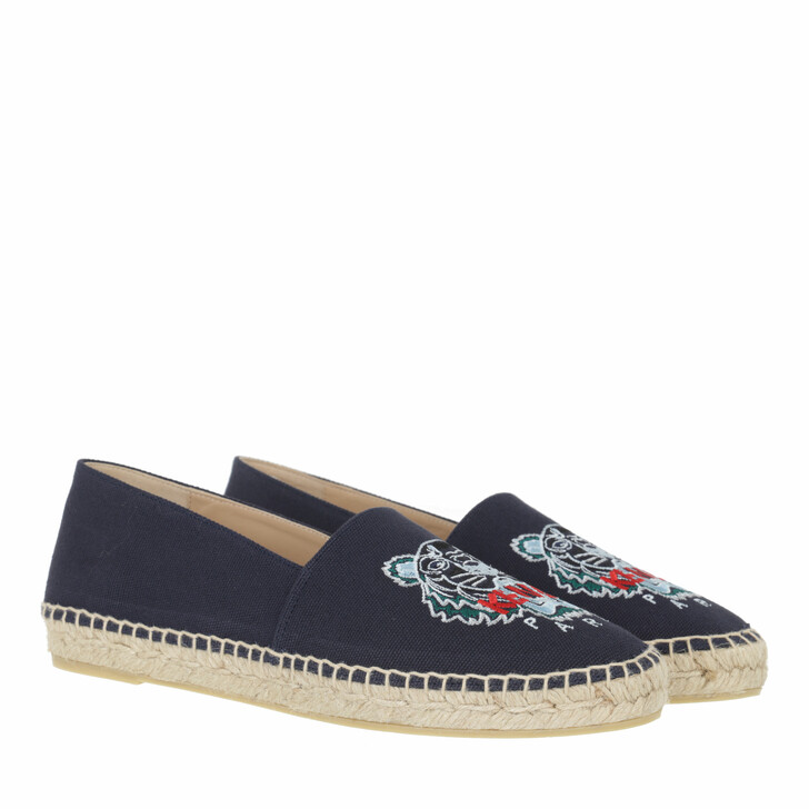 shoes, Kenzo, Espadrille Navy Blue