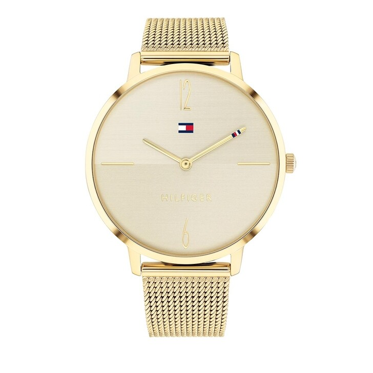 Uhr, Tommy Hilfiger, Quartz Watch Gold