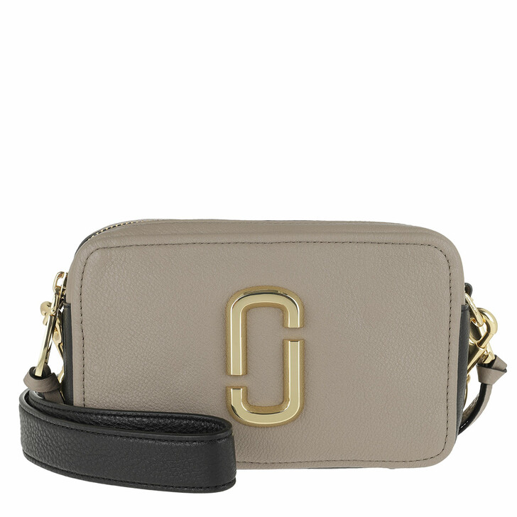 Handtasche, Marc Jacobs, The Softshot 21 Crossbody Bag Cement