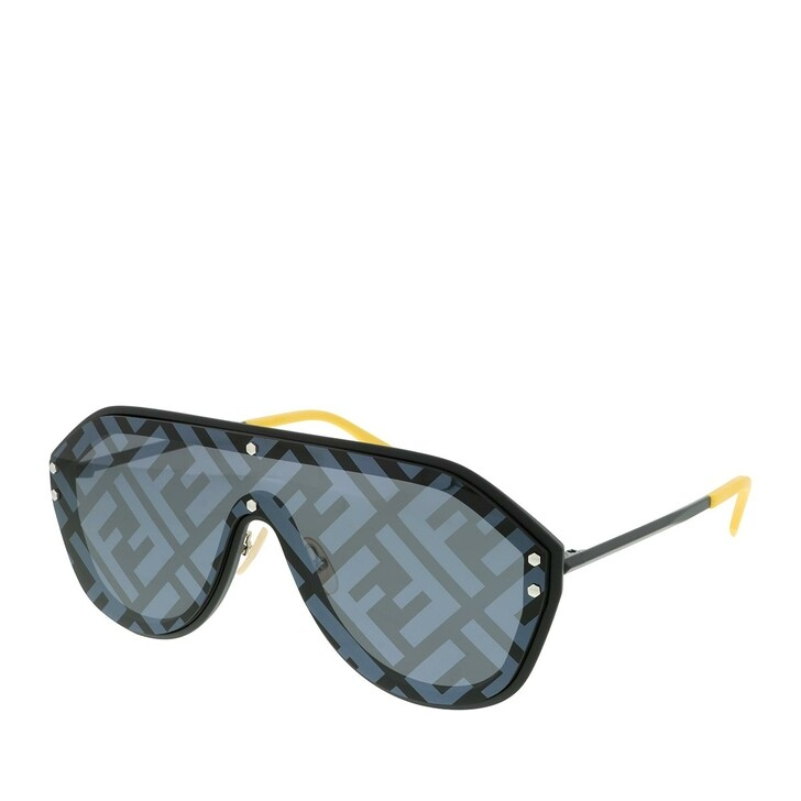 Sonnenbrille, Fendi, FF M0039/G/S Black Yellow