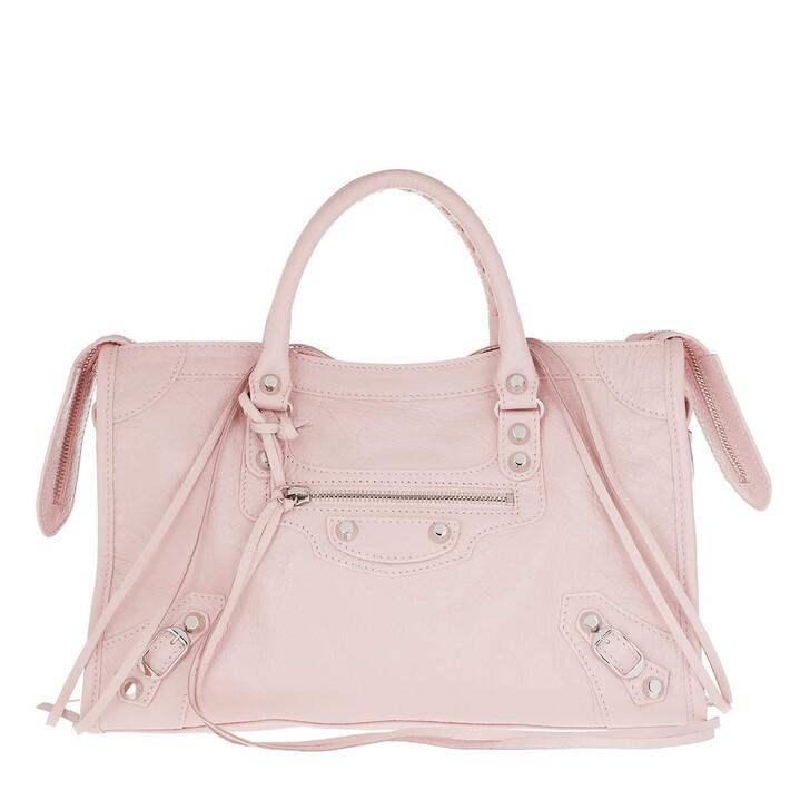 Handtasche, Balenciaga, City Tote Tassel Studded Leather Light Rose