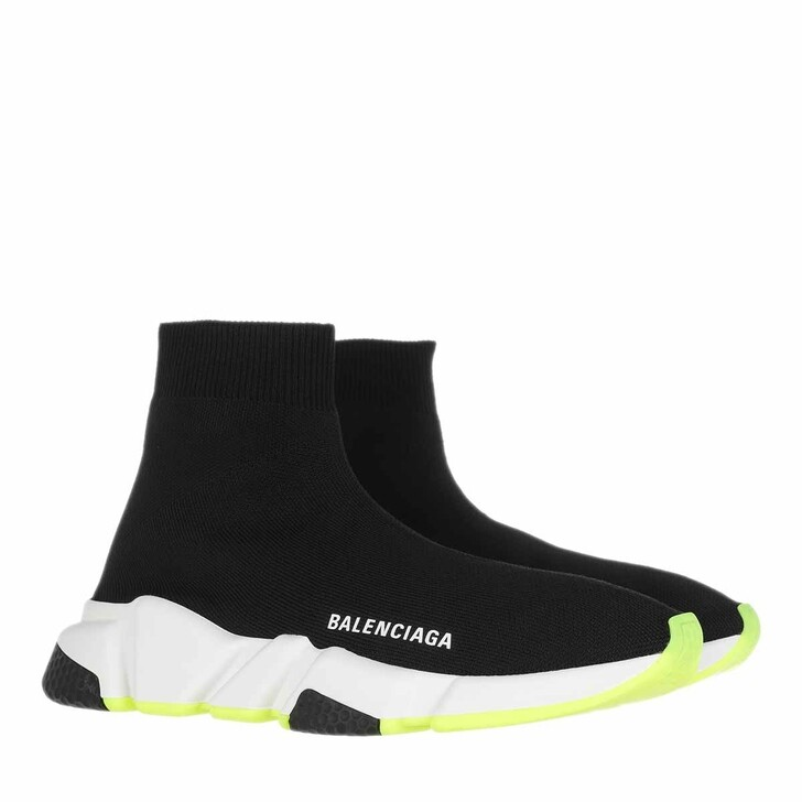 Schuh, Balenciaga, Speed Trainers Black/White/Yellow