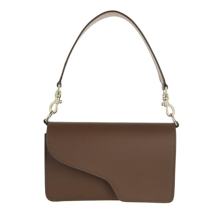 bags, ATP Atelier, Assisi Vachetta Khaki Brown