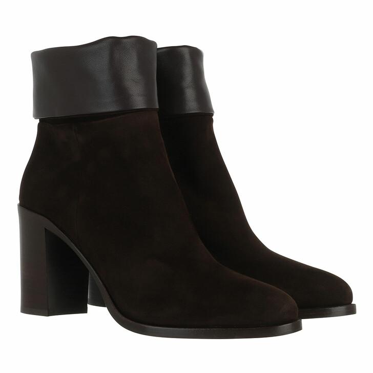 Schuh, Prada, Boots Leather Moro