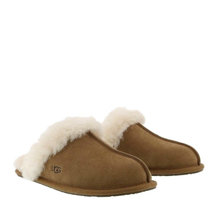 shoes, UGG, Women Scuffette Slipper Chestnut