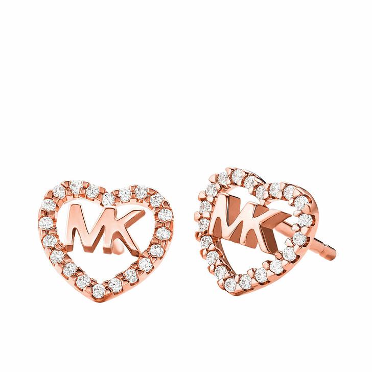Ohrring, Michael Kors, MKC1243AN791 Hearts Earrings Roségold