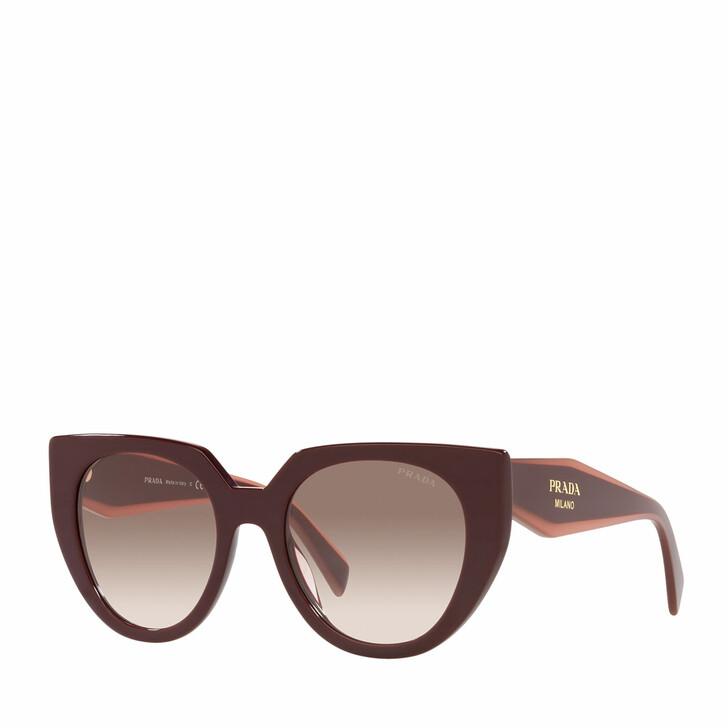sunglasses, Prada, 0PR 14WS GARNET