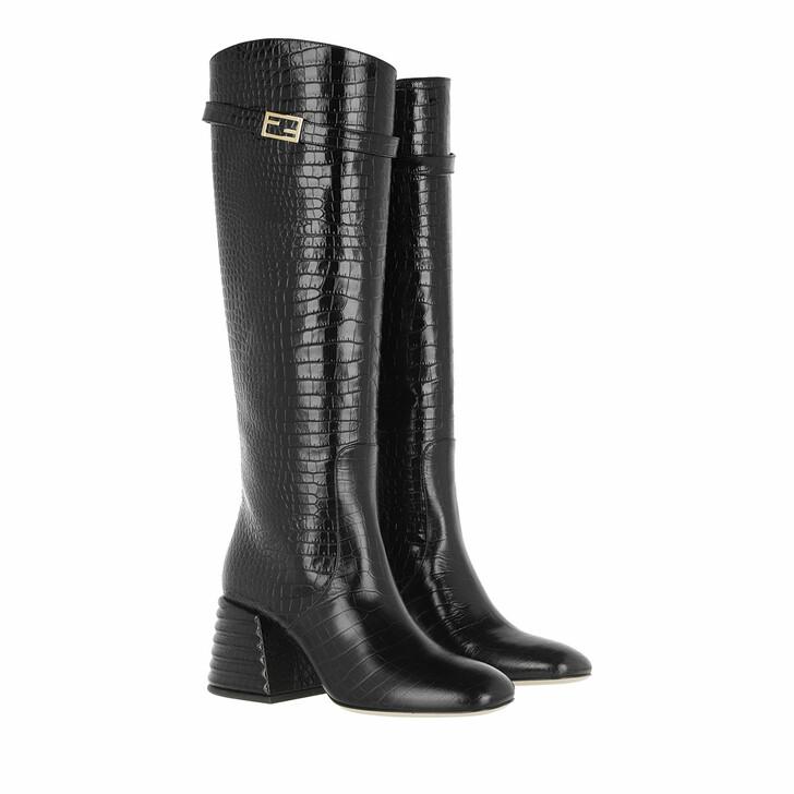 Schuh, Fendi, Boots Leather Black