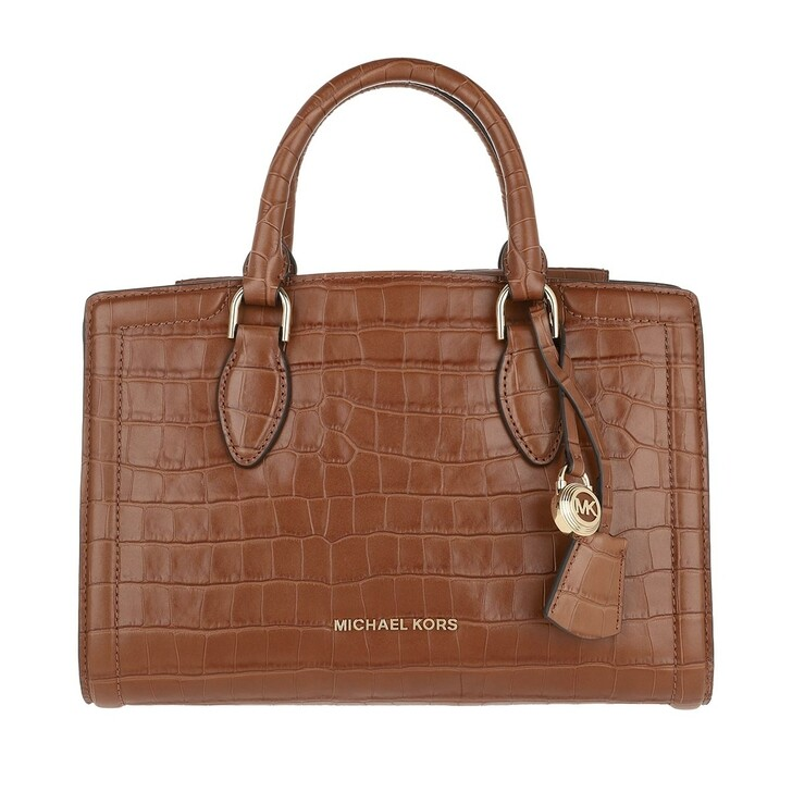Handtasche, MICHAEL Michael Kors, Zoey Medium Satchel Chestnut