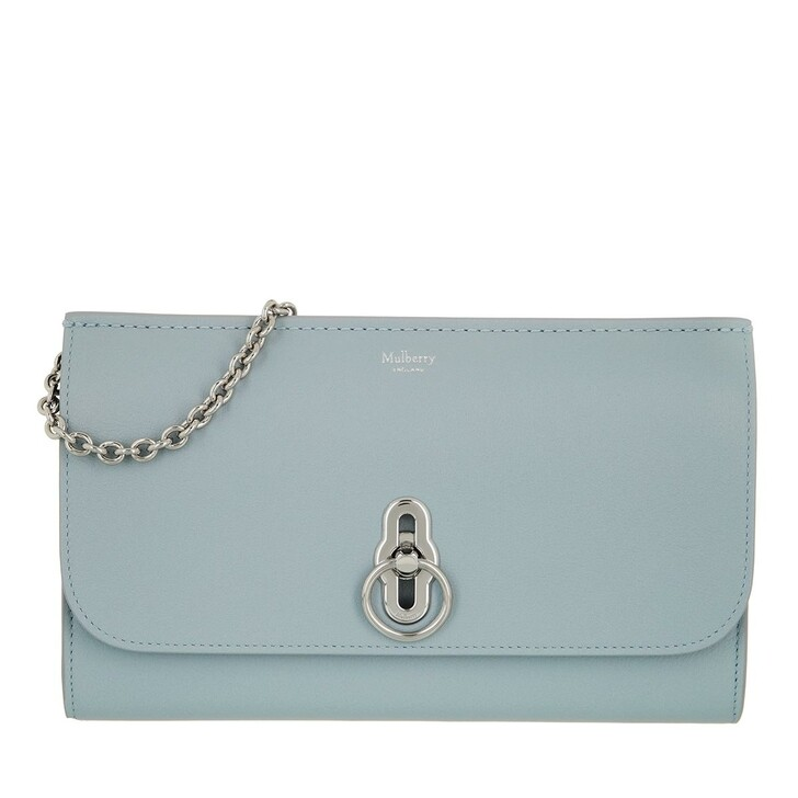 bags, Mulberry, Amberley Clutch Leather Cloud