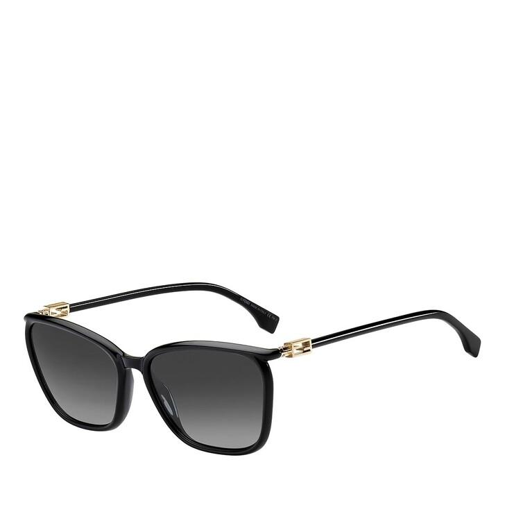sunglasses, Fendi, FF 0460/G/S BLACK